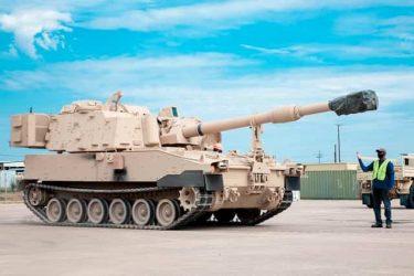 米軍は次世代大砲システムM109A7パラディンを第1騎兵師団に配備