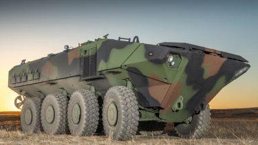 ACV AAV7に代わる米海兵隊の新しい水陸両用車両