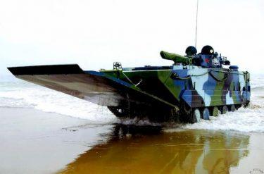タイ海軍が中国製のVN16 水陸両用歩兵戦闘車を選択