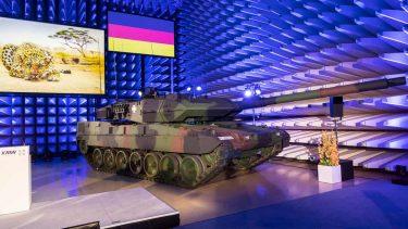 ドイツ陸軍が新しいレオパルト2A7Vをテスト