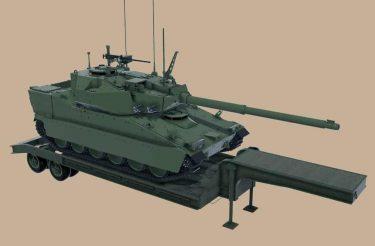 BAEシステムズは米陸軍に納入する次期軽戦車の設計を明らかにしました