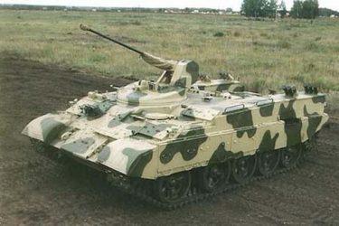 BTR-Tは古くなったT-54/55を流用した歩兵戦闘車両です
