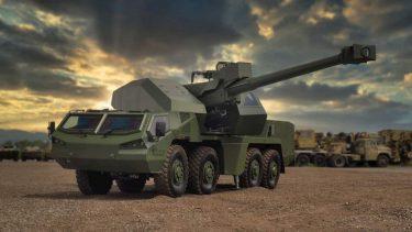 チェコのエクスカリバーが新しい155mm自走榴弾砲DITAを発表