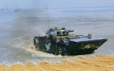 中国の05式水陸両用戦闘車(ZBD-05)は世界最強と言われています