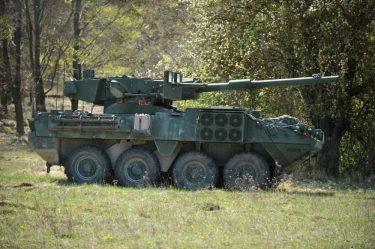 米陸軍は2022年にM1128 ストライカーMGSを廃止する