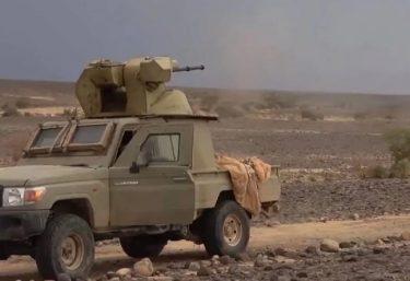 イエメンに現れた30mm砲塔を搭載したトヨタ・ランドクルーザー
